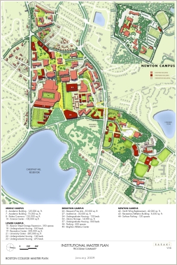 Boston College master plan