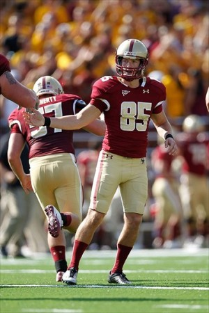NCAA Football: Miami at Boston College