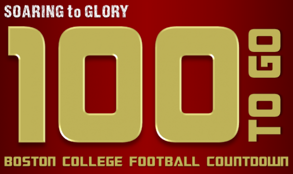 BC Football 100 Days to Go