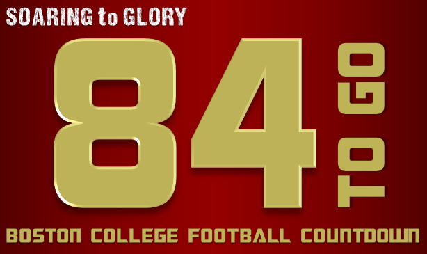 BC Football: 84 Days to Go