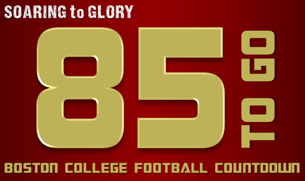 BC Football: 85 Days to Go