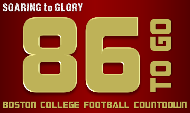 BC Football: 86 Days to Go