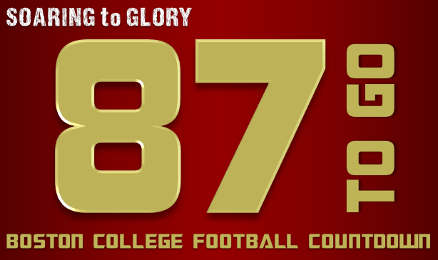 BC Football: 87 Days to Go