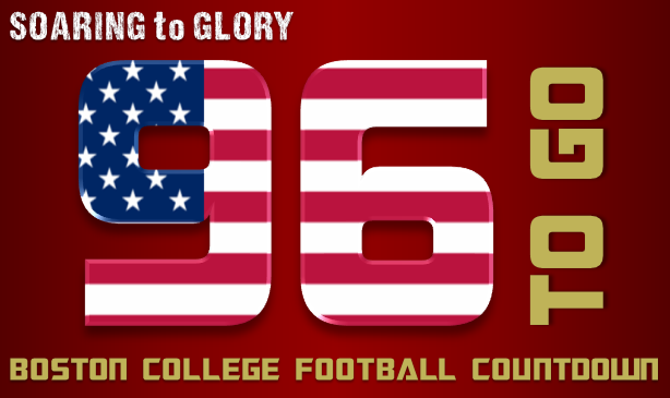 BC Football: 96 Days to Go