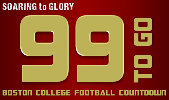 BC Eagles Football: 99 Days to Go