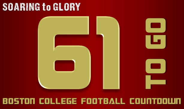 BC Football: 61 Days to Go