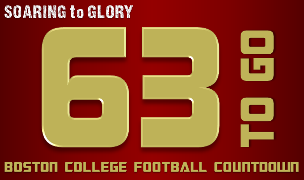 BC Football: 63 Days to Go