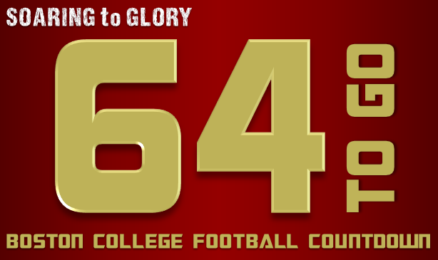 BC Football: 64 Days to Go