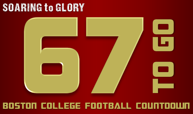 BC Football: 67 Days to Go