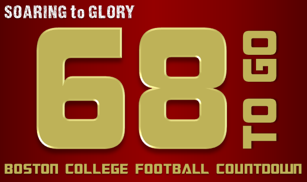 BC Football: 68 Days to Go