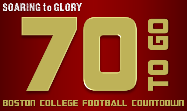 BC Football: 70 Days to Go