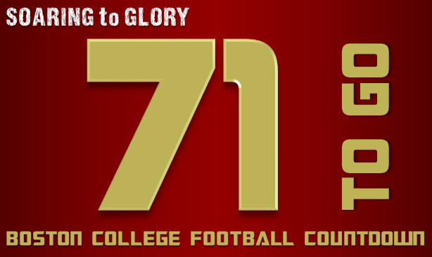BC Football: 71 Days to Go