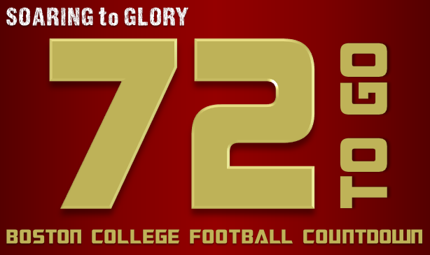 BC Football: 72 Days to Go