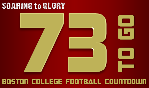 BC Football: 73 Days to Go
