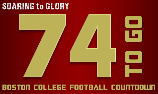 BC Football: 74 Days to Go