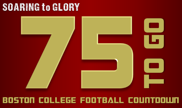 BC Football: 75 Days to Go