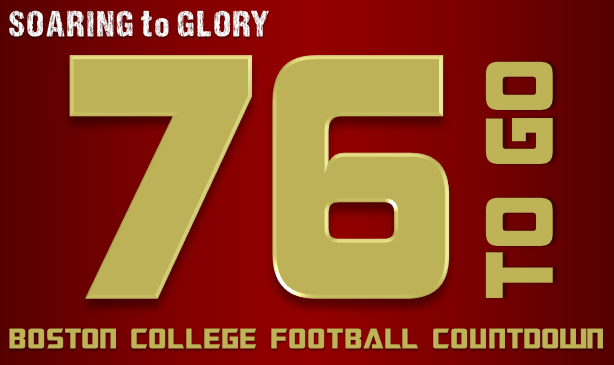 BC Football: 76 Days to Go