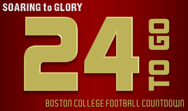 BC Football: 24 Days to Go