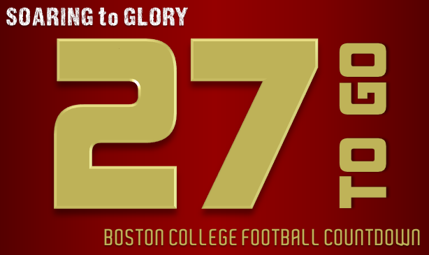 BC Football: 27 Days to Go