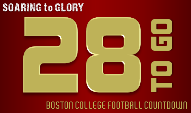 BC Football: 28 Days to Go