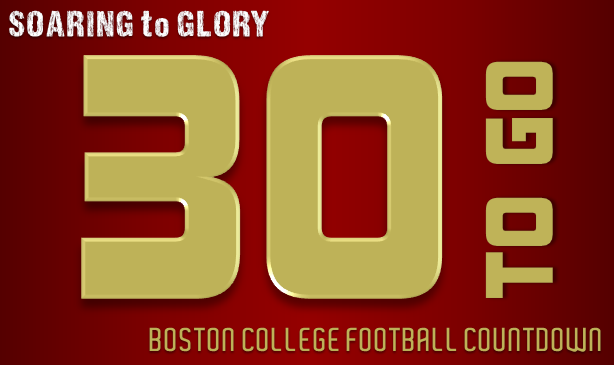 BC Football: 30 Days to Go