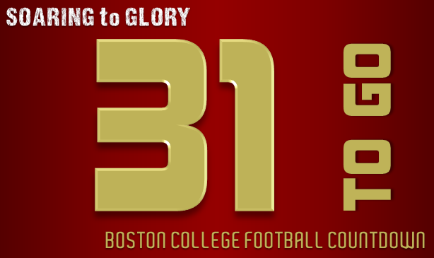 BC Football: 31 Days to Go