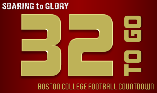 BC Football: 32 Days to Go