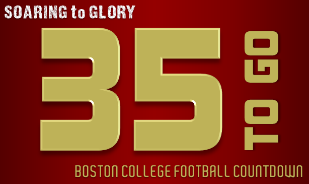 BC Football: 35 Days to Go