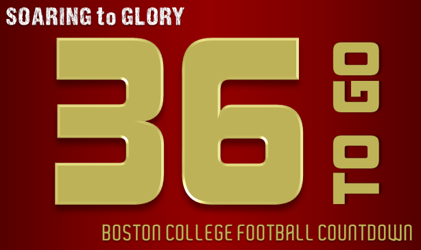 BC Football: 36 Days to Go