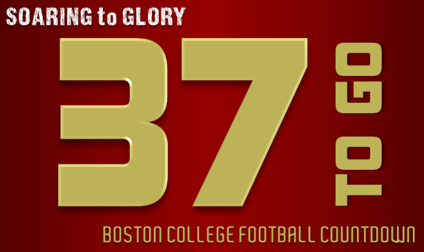 BC Football: 37 Days to Go