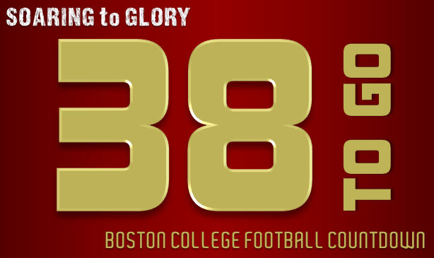 BC Football: 38 Days to Go