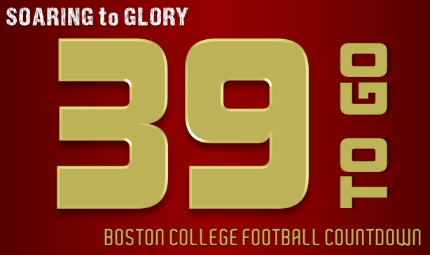 BC Football: 39 Days to Go
