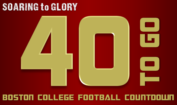 BC Football: 40 Days to Go