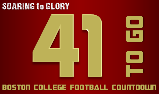 BC Football: 41 Days to Go