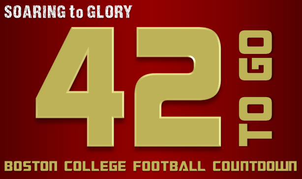 BC Football: 42 Days to Go