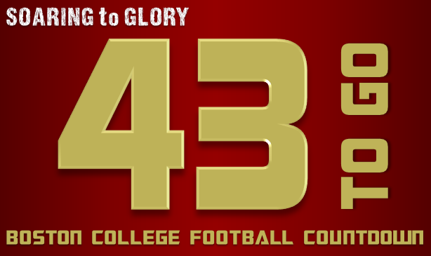 BC Football: 43 Days to Go