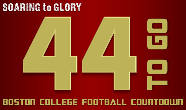 BC Football: 44 Days to Go
