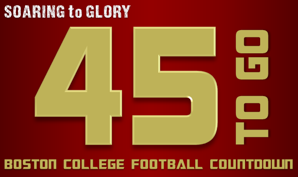 BC Football: 45 Days to Go