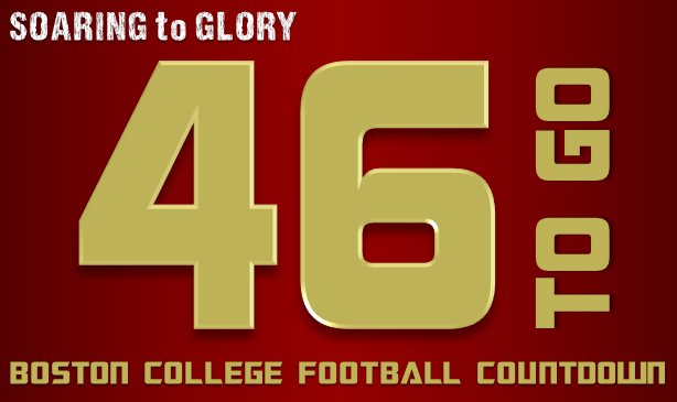 BC Football: 46 Days to Go
