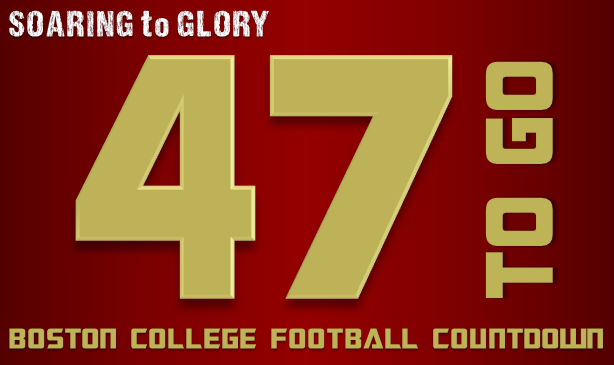 BC Football: 47 Days to Go