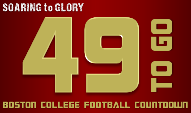 BC Football: 49 Days to Go