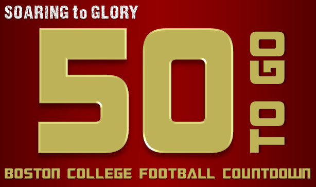 BC Football: 50 Days to Go