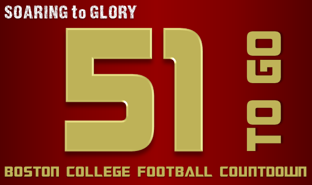 BC Football: 51 Days to Go