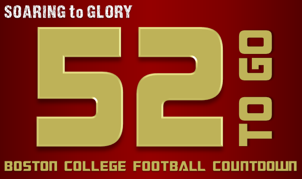 BC Football: 52 Days to Go