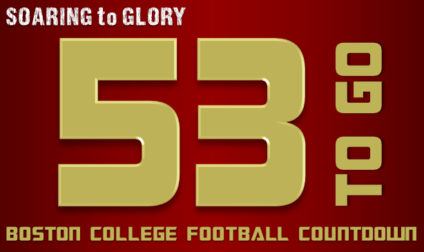 BC Football: 53 Days to Go