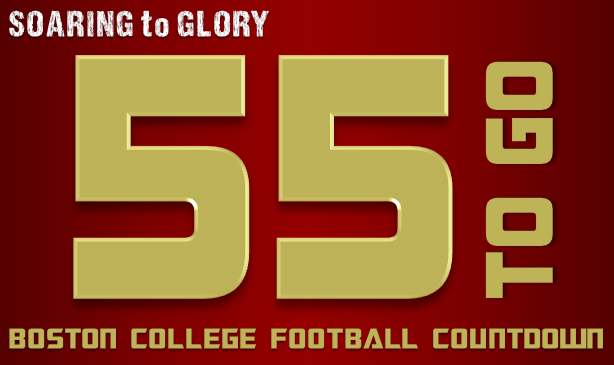BC Football: 55 Days to Go