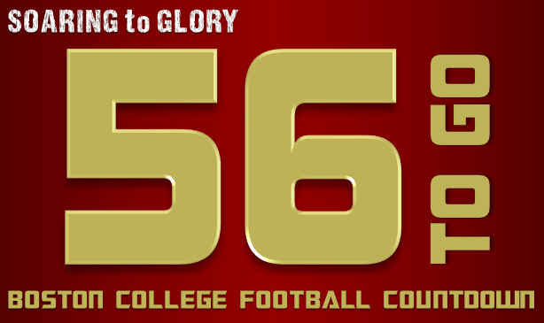BC Football: 56 Days to Go