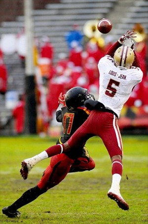 NCAA Football: Boston College at Maryland