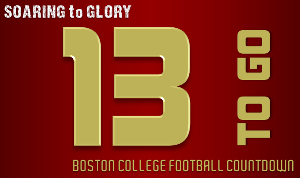 BC Football: 13 Days to Go