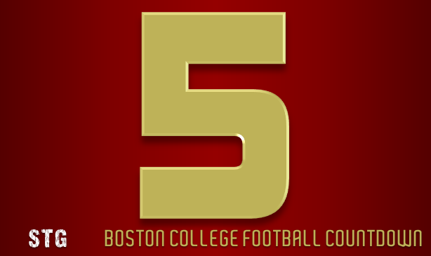BC Football: 5 Days to Go